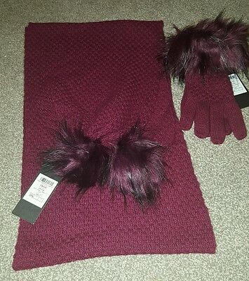 Alice Hannah Scarf and Glove Set