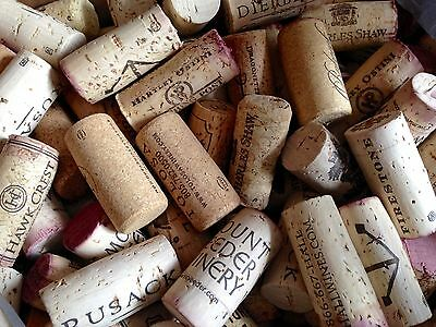 300 Used WINE CORKS Arts Crafts No Synthetics 100% Natural
