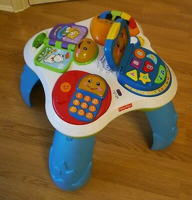 Fisher price fun with friends laugh & learn Activity Table baby lights musical