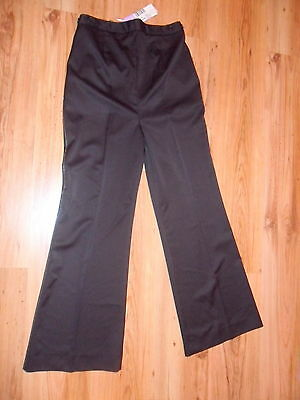 BNWT * Next * Evening Maternity Trousers~ Size 10 Smart  Black Stretchy ~ NEW