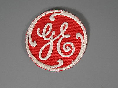 GE General Electric Patch / New Old Stock Closed Embroidery Company / FREE Ship