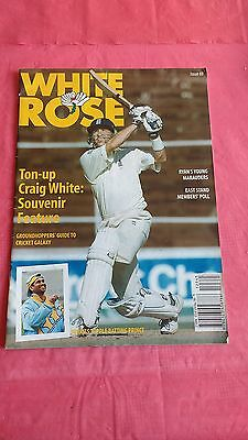 'The White Rose' Issue 69 2002 Yorkshire County Cricket Magazine