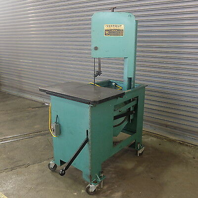 "10"" Verticut All Purpose Vertical Band Saw, Roll In Style= Single Phase"