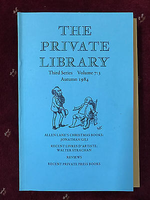 The Private Library 3rd Series Vol.7:3 1984