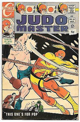 Judo Master #97 (Charlton 1967) fine to very fine 7.0 - Sarge Steel backup strip