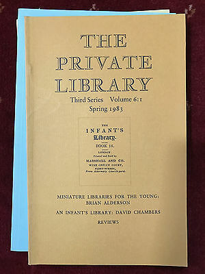 The Private Library 3rd Series Vol.6:1 1983