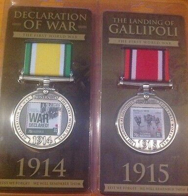 The Declaration of War and The Landing of Gallipoli