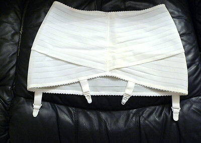 Open Bottom Girdle XXL fit 32-36 inches waist in white color