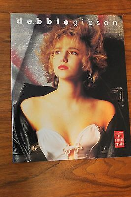 Debbie Gibson 1990 UK color photo biography book