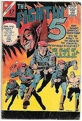 Fightin' 5 #38 (Charlton Comics 1966) fn- 5.5