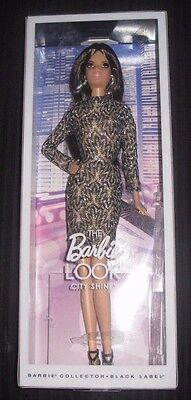 Barbie Collector City Shopper  Barbie Look Brunnette  Doll City Shine , New
