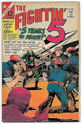 Fightin' 5 #39 (Charlton Comics 1966) fn+ 6.5