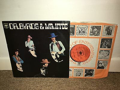 THE BYRDS Dr Byrds and Mr Hyde LP Mono 1969 UK 1st Press!