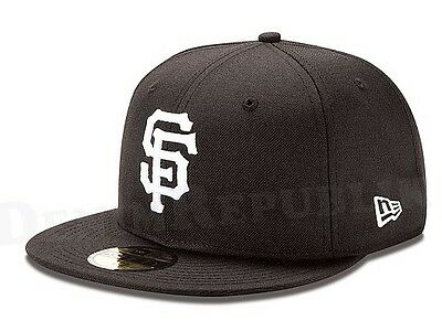 competitive price e833b 4655a ... where to buy new era 5950 san francisco giants black white hat mlb  baseball mens fitted