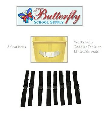 8 Toddler Table Replacement Seat Belts, Infant toddler table belts.