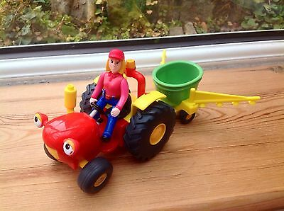 Springhill Farm Tractor Tom With Seed Drill & Farmer Fi Figure Playset