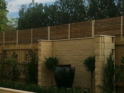 2400 X 500 Hardwood total block-out fence extension
