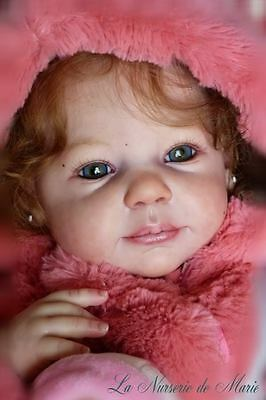 "New Reborn Baby Doll Kit Camille By Ann Timmerman @22""@Vinyl Parts Only"