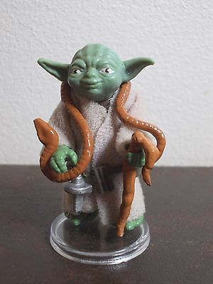 Vintage Star Wars Yoda 1980 Brown Snake Figure