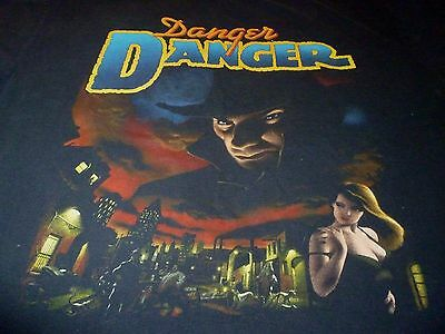 Danger Danger Tour Shirt ( Used Size XL ) Used Condition!!!