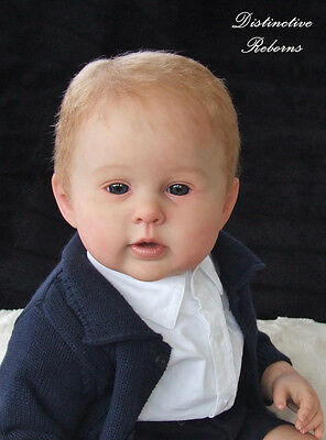 """New Reborn Baby Doll Kit Prince George By Ping Lau @ 23"""" @Vinyl Parts Only"""