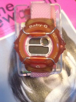 Baby Pink 90s Baby G Watch By Casio