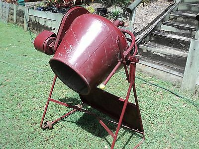 Cement mixer, used, electric 'Lightburn' made in Australia