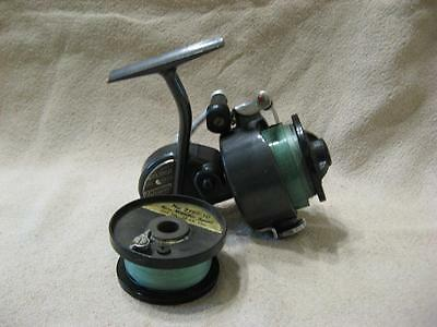 Vtg Shakespeare 2065 Spin Wonder Spinning Fishing Reel & Extra Spool with line