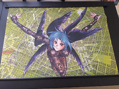 Masamune Shirow - Ghost in the Shell vintage fabric wall scroll anime art poster