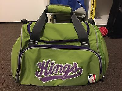 KINGS NBA Slam Gym Duffle bag, Lime Green, Excellent Condition