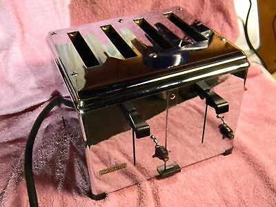 Vintage Rare A+ Toastmaster Commercial Toaster 4 Slot Model 1D2