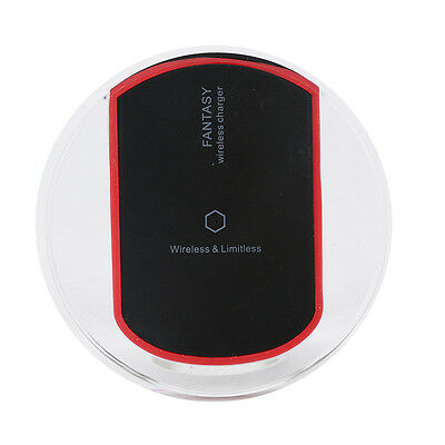 Universal Cool Qi Wireless Power Charger Charging Pad For Samsung Galaxy S6 Edge