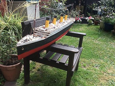Titanic Model 4.5' Long Beautiful Hand Made Lovely Detail
