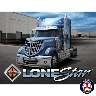 Moebius 1/24 International Lone Star 2010 1300 Brand New