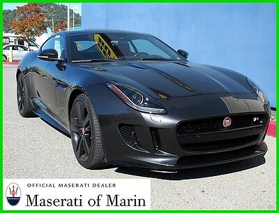 2015 Jaguar F-Type Type R Great color combo special 2015 R Used 5L V8 32V Automatic AWD Coupe Premium