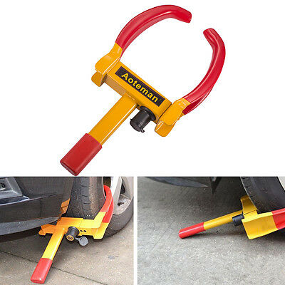 NEW Heavy Duty Wheel Clamp Lock Boot Tire Claw Trailer Auto Car Truck Anti-Theft
