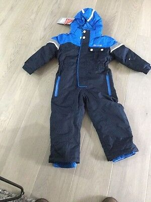 Brand new nevica navy blue  ski suit / snow suit size 3-4 years