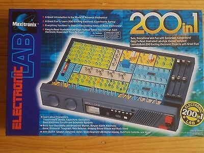 Maxitronix Electronic Lab 200 in 1 Kit -Science Electronics Experiments Kit