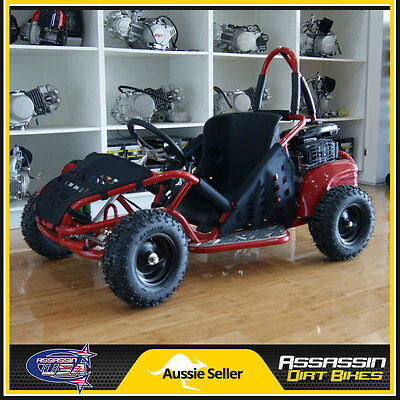 Assassin USA 80cc OHV 4 Stroke KIDS Buggie Go Kart Bike ATV Dirt Buggy