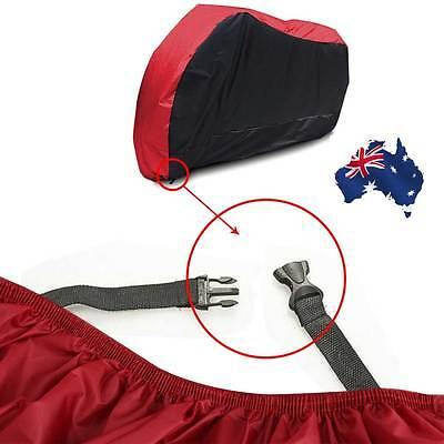 Waterproof Outdoor Motorcycle Motor Bike Scooter Protector Dust Rain Cover XL