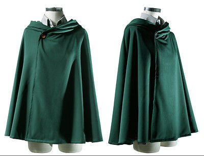 Anime Shingeki no Kyojin Cloak Cape clothes cosplay Attack on Titan  M size