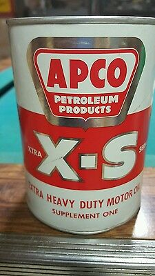 APCO  S-3 oil can one us quart  full