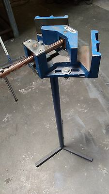 """90° Heavy Duty Cast Iron Angle Clamp 4""""(100mm) Jaw,Welder's Angle Clamp"""