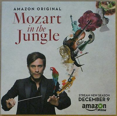 Mozart In The Jungle Amazon 2016 Fyc Promotional Full Season 3 Two Dvd Set
