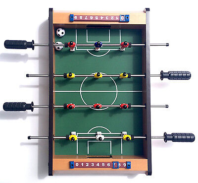 Mini Foosball Table. Assembled, like new, never used.