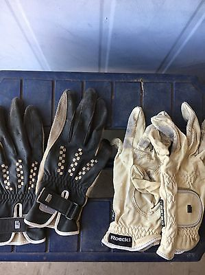 Riding Gloves Roeckl (two Pairs)