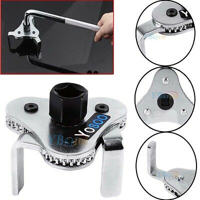 """3 Jaw Engine Oil Filter Removal Wrench Commercial Grade 1/2"""" Drive 63mm-103mm"""