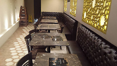 Booth bench for your restaurant cafe and bar