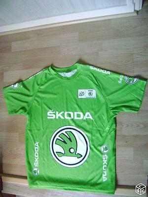 T shirt maillot cyclisme Skoda NEUF taille L