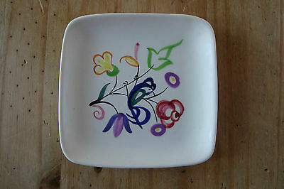 Poole Pottery Blue Bird Pin Dish Hand painted LE